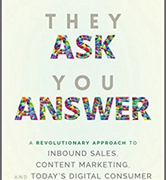 They Ask You Answer Marcus Sheridan marketing book report POSMarketing