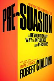 Robert Cialdini Presuasion marketing book report POSMarketing