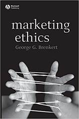 Marketing Ethics by George Brenkert marketing book report POSMarketing